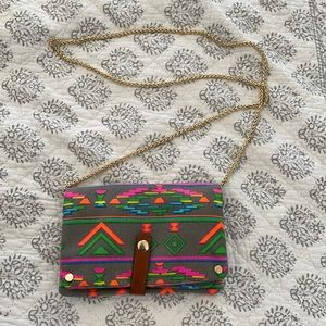 Aztec multi color purse